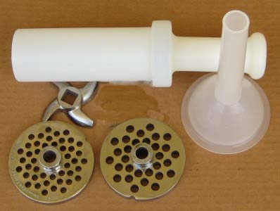 commercial meat grinder accessories. Standard set
