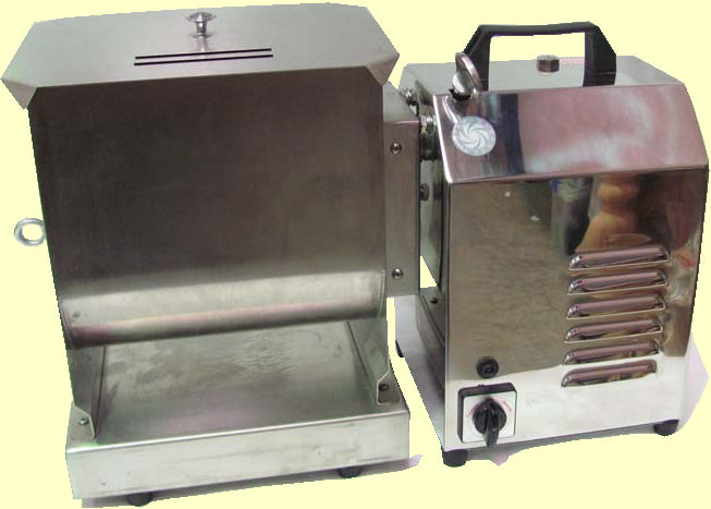 Commercial quality meat mixer as an attachment to Rovtex meat mincer