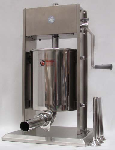 state-of-art 10L stainless steel manual sausage filler