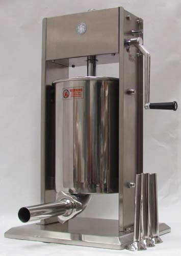 state-of-art 12L stainless steel manual sausage filler