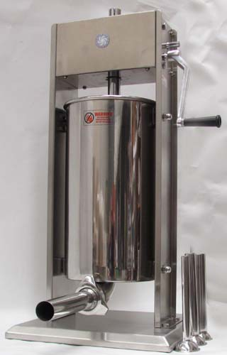 Stainless steel 15L sausage filler