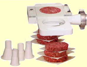 Patty maker | Burger maker for meat mincers HB8, HB12, HB22