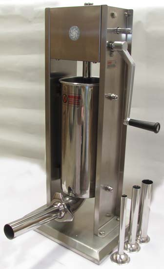 Stainless steel 5l sausage filler