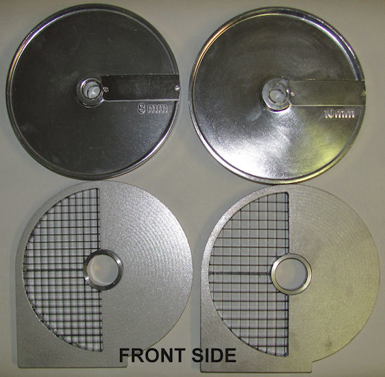 Dicing and slicing discs for ROVTEX food processor HLC300 vegetable cutter HLC-300