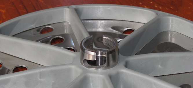 grating disc lock fitting for ROVTEX commercial vegetable cutter